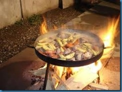 Traditional foods - asado (roast)  Pollo al disco - originates from farmers in rural areas who cooked on a plow disc  Fernet - sour aperitif drunk mixed with coke
