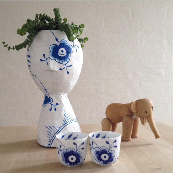 Mega Mussel - DIY papmaché vase...