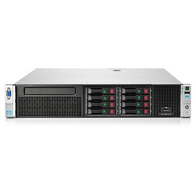 HP ProLiant DL380e Gen8 E5-2450 2.1GHz 8-core 2P 24GB-R P420 Hot Plug 8 SFF 750W PS Perf Server