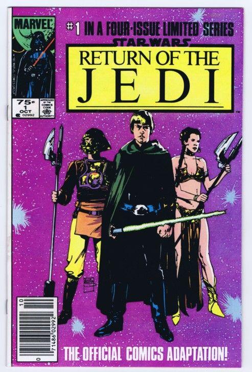Star Wars Marvel Comics Limited Series Return of the Jedi #1