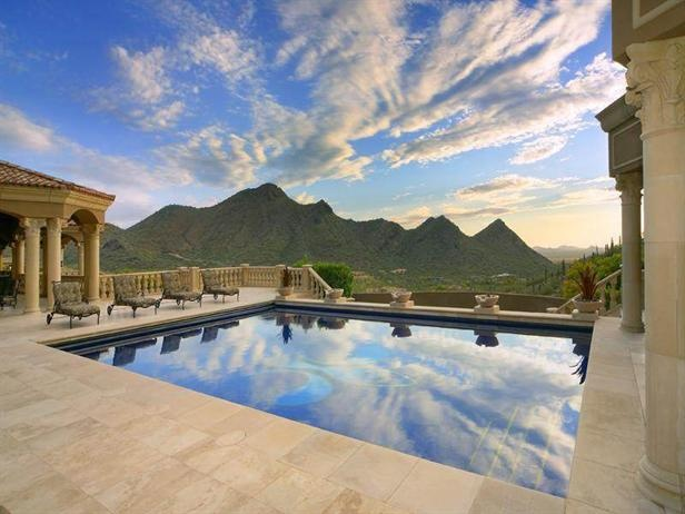 109 Best Images About Palatial Pools On Pinterest Cool Houses Gunite Pool And Spanish Style