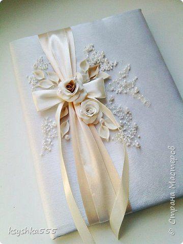 Декор предметов Свадьба Лепка папка для свидетельства о браке Пластика фото 1