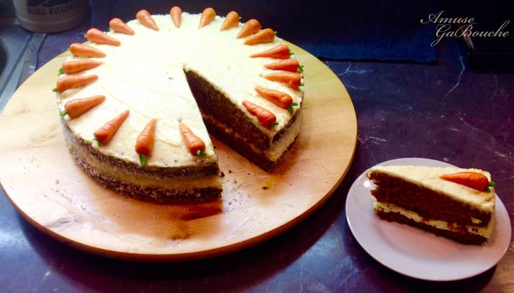 Coconut - Orange Carrot Cake