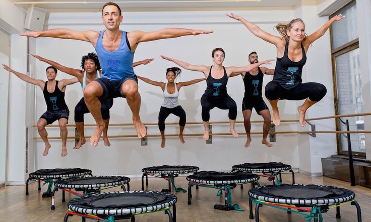 Here are four reasons why it's time to give a trampoline workout a shot!