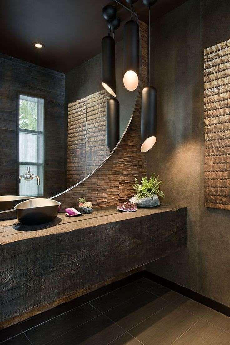 Oltre 25 fantastiche idee su Bagno in stile industriale su Pinterest  Tubi industriali ...