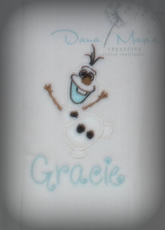 12 best images about shabby chic on pinterest personalized baby personalized burp cloth baby bib olaf inspired free shipping in usa negle Image collections