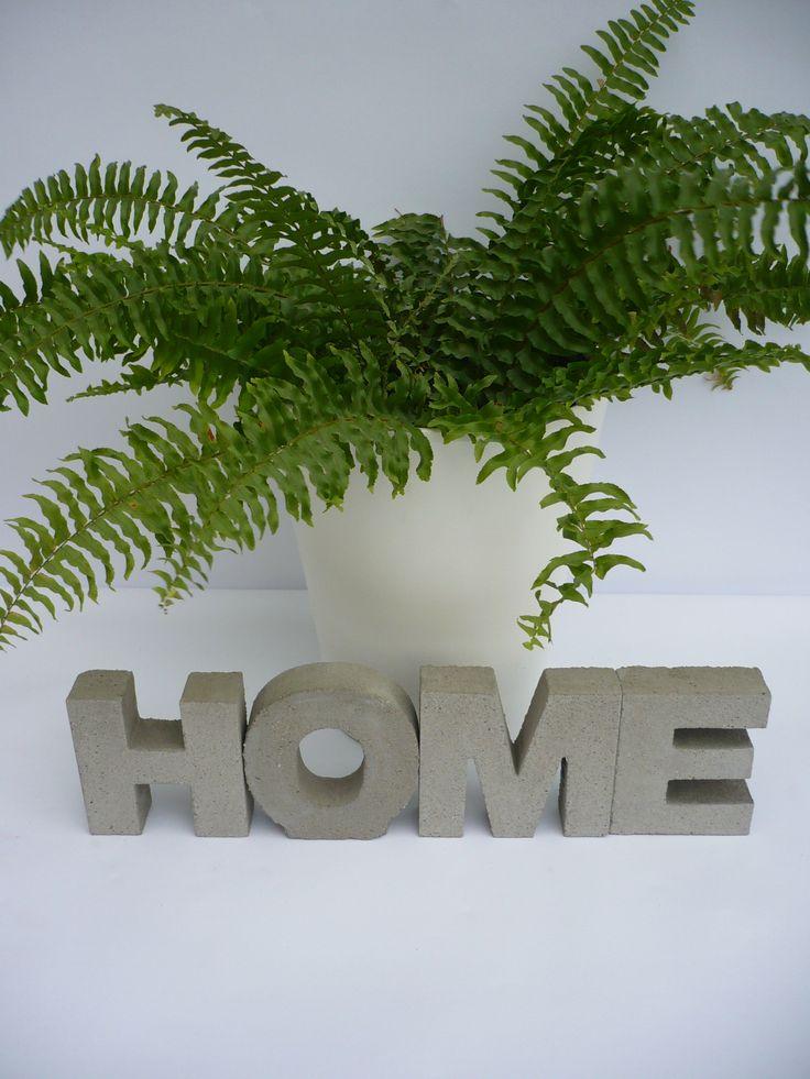 #concrete #beton #betondesign #napisybetonowe #litery3d #literybetonowe #home