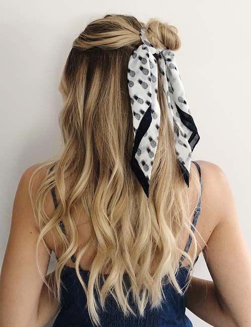 25 Unimaginable Methods To Fashion Your Hair With A Scarf
