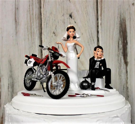 bike wedding cake topper best 25 honda dirt bike ideas on 11762