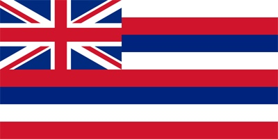 The flag originally represented the independent kingdom of Hawaii, and was designed at the request of King Kamehameha I.          The British Union Jack (upper left corner) recalls a similar flag presented to the King by a British army officer in 1793.