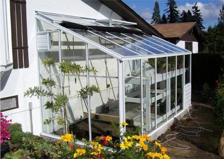 25 best ideas about lean to greenhouse on pinterest for Sunroom attached to house