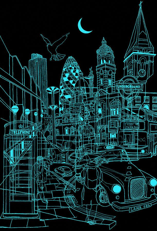 London Night - David Bushell