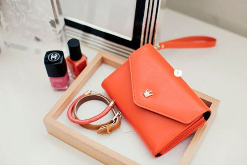 Imagem de bag, orange, and pink