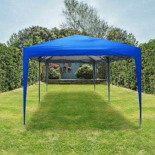 New Quictent 10x20 Ft Ez Pop Up Canopy Tent Instant Wedding Party Canopies Outdoor Canopy Commercial Grade Wheeled Bag Blue Online Lookpoppretty In 2020 Pop Up Canopy Tent Party Canopy Canopy Outdoor