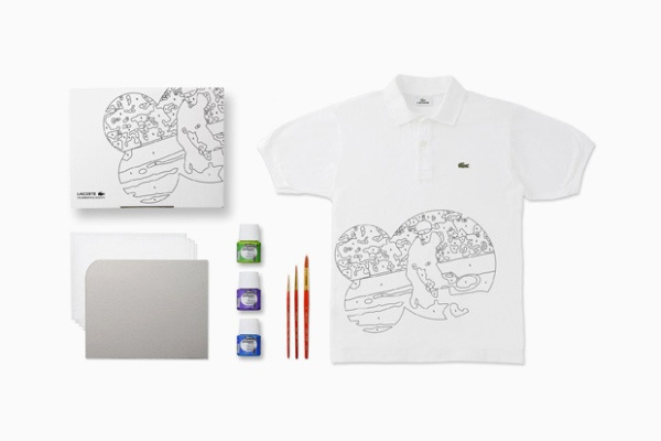 Lacoste 80th Anniversary Limited Edition Custom Polo Kit.
