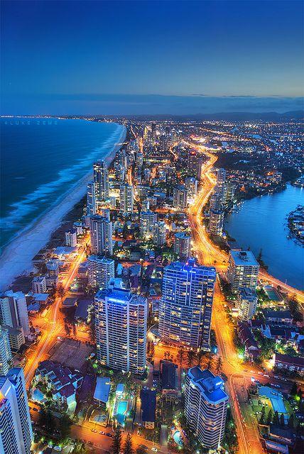 Gold Coast, Australia http://www.downunderendeavours.com/destinations/australia