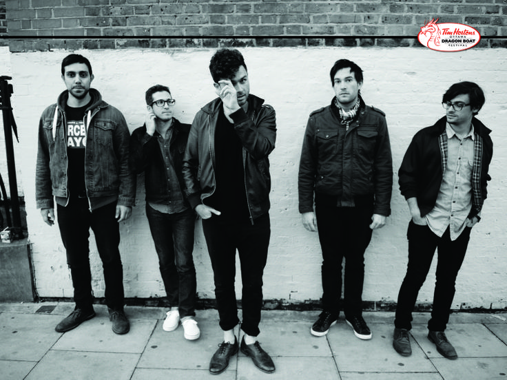 Saturday, June 21, 2014 at 9:30pm Canadian rock band Arkells will headline a licensed free all ages concert on the CTV Main Stage at Tim Hortons Ottawa Dragon Boat Festival at Mooney's Bay Park.