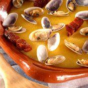 Portuguese Xarém com Conquilhas. Wonderful. Simply adore it. #portuguese #portugal #food