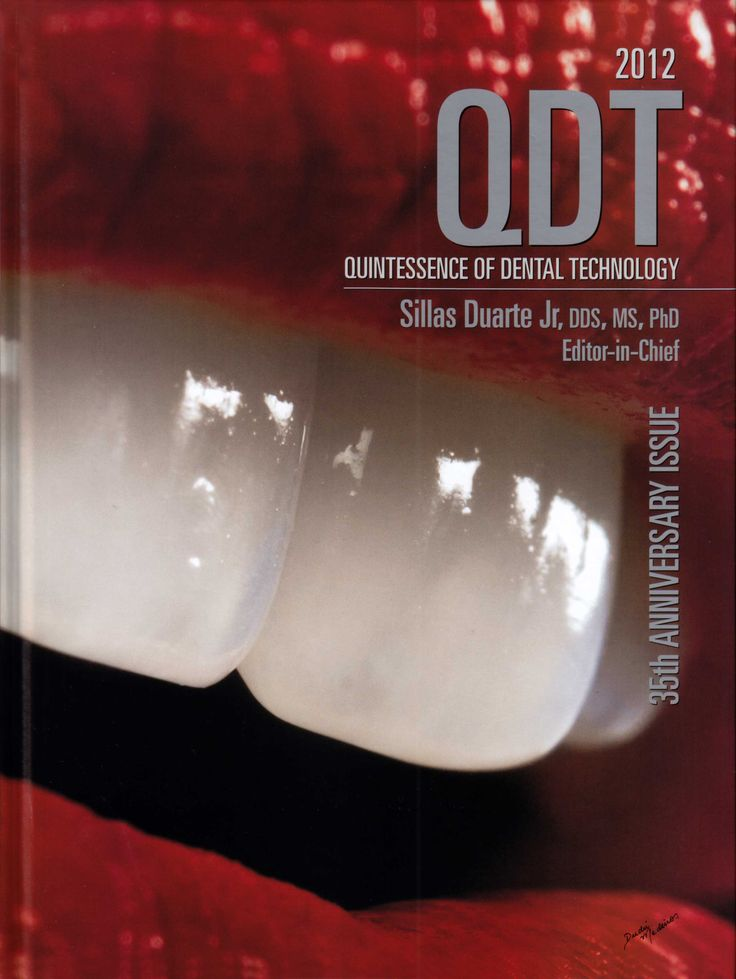 Title: Quintessence of Dental Technology Editor: Silas Duarte Jr. Publisher: Quintessence Publishing ISSN: 0896-6532 ISBN: 978-0-86715-562-4 Year: 2012 http://www.quintpub.com/display_detail.php3?psku=J0623#.UnaqXJE6JFw