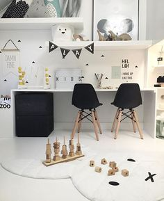 Very simple, very cute decoration for your kid's playroom #playroom #kids #playtime Find more inspirations at www.circu.net