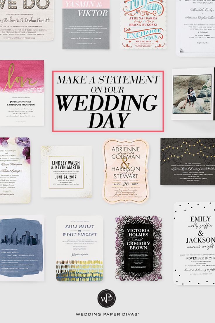 415 best Wedding Invitations images on Pinterest Wedding