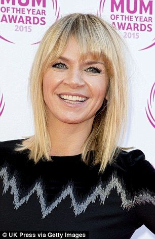 TV and radio presenter Zoe Ball says becoming a mother has been the making of her