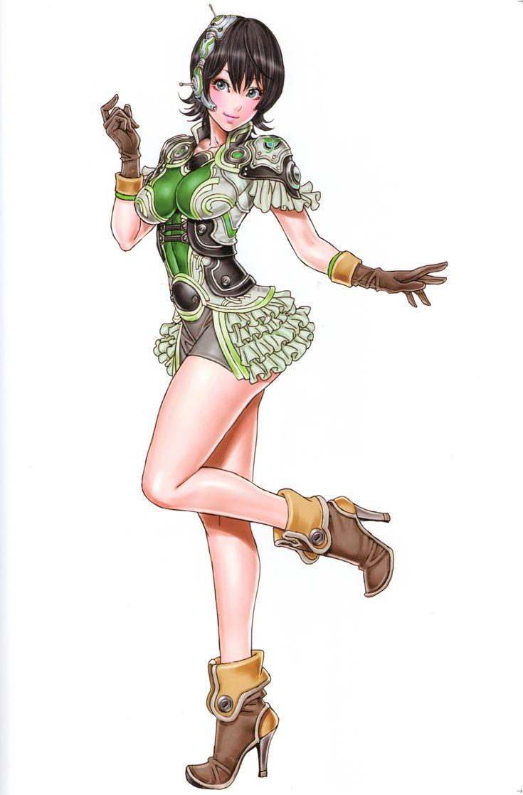 Chihiro from Border Break: Sega Network Robot War by Shunya Yamashita