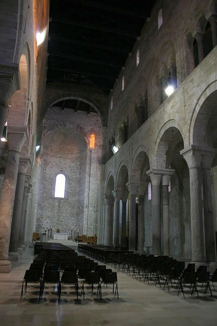 Trani Catholic Cathedral, Italy almost reminds me of the Monestary I went too