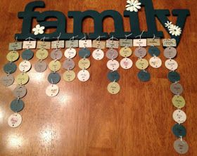 Stampin With MJ: A Perpetual Family Birthday Calendar