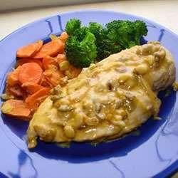 Chicken Valdostana
