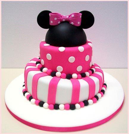 Tortas con diseño Minnie - Imagui