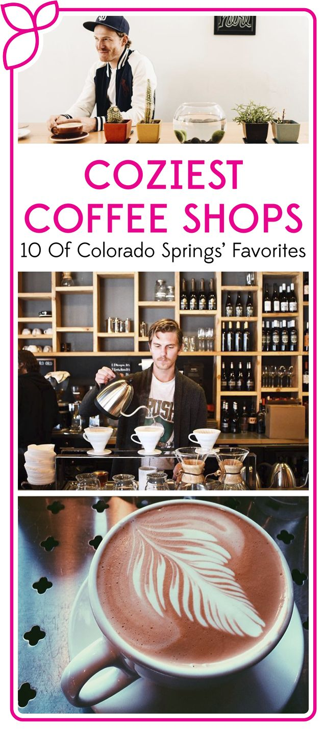For those who crave a cappuccino, chai tea, or caramel latte in a cozy atmosphere, look no further than this fantastic list of Colorado Springs' coffee shops.
