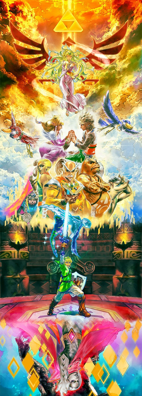 Epic Zelda Picture.