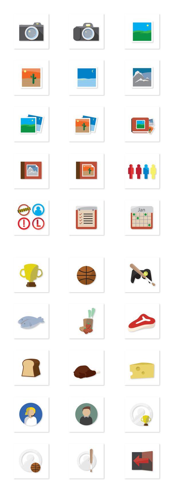30 Free Flat Icons