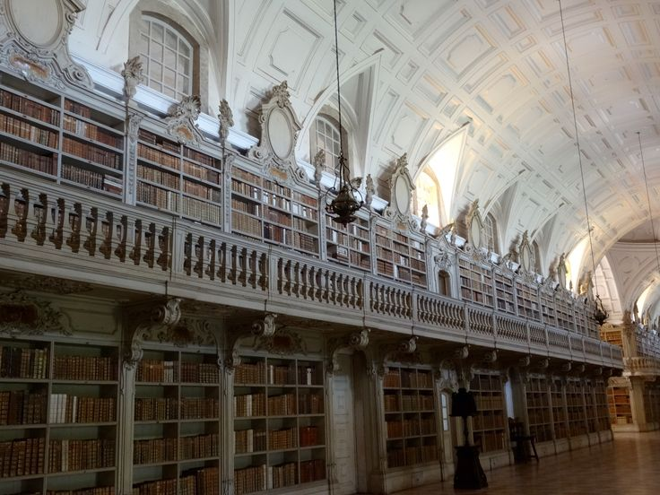 https://flic.kr/p/rNiJj7 | Biblioteca do Convento Nacional de Mafra