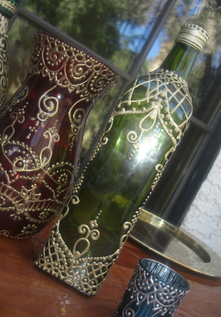 Mehndi Glass Decoration : Best images about all things mehndi on pinterest