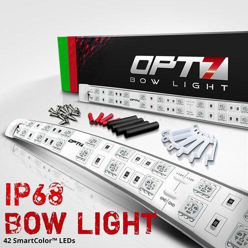 Boat Bow Navigation LED Light Kit - 2 Mile Visibility