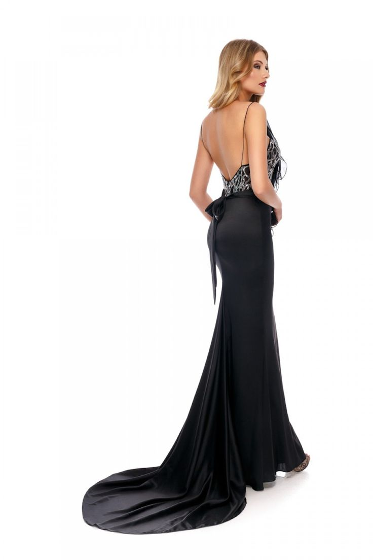 Elegance for a special night. TISA evening dress by Athena Philip >>> www.athenaphilip.ro