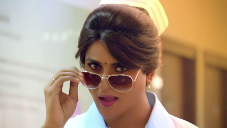 remo sivakarthikeyan cute lady mackup photos | http://www.atozpictures.com/remo-lady-siva-getup-photos