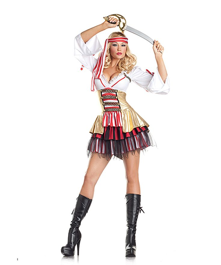Love this White & Red Sea Siren Costume Set - Women by Be Wicked! on #zulily! #zulilyfinds