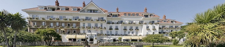 St Brelades Bay Hotel - the venue  Family room for 4 £252 with 30% discount Check cots, child supplements, half board, reservation prices/cancellation.