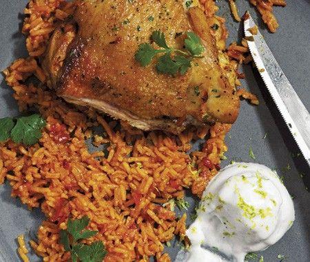 Honduran Chicken & Rice Recipe