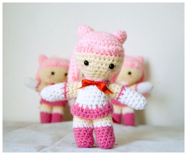 Amigurumi Chibi Doll Pattern Free : Deadpool chibi inspired amigurumi by amiamalilium on deviantart