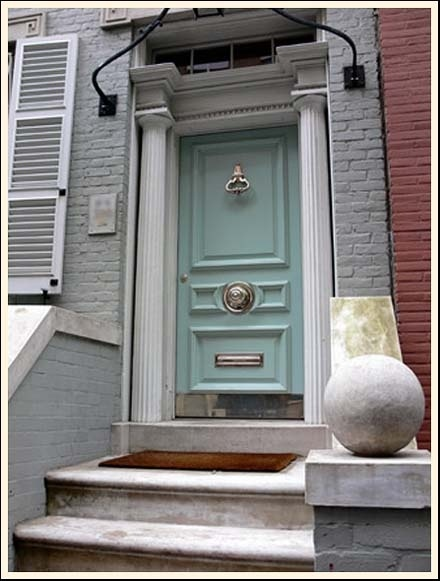 Beautiful front door.