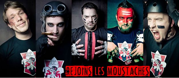 Join the Lille Moustache Roller Girls !