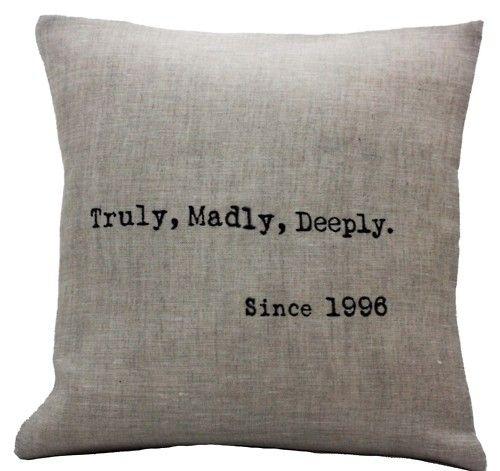Since 1999...: Craft, Wedding Anniversary, Anniversary Present, Gift Ideas, Anniversary Gifts, Pillows, Wedding Gifts