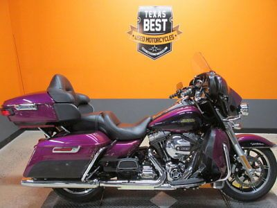 eBay: Harley-Davidson Ultra Classic 2016 Harley-Davidson Ultra Classic - FLHTCU - 1,604 Miles - Rare Two Tone Paint #motorcycles #biker