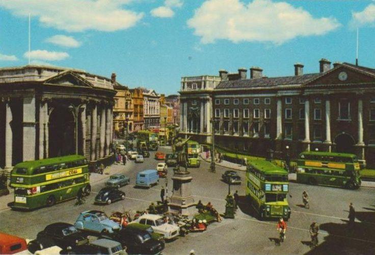 College Green Dublin 1960s | MajorCalloway | Flickr