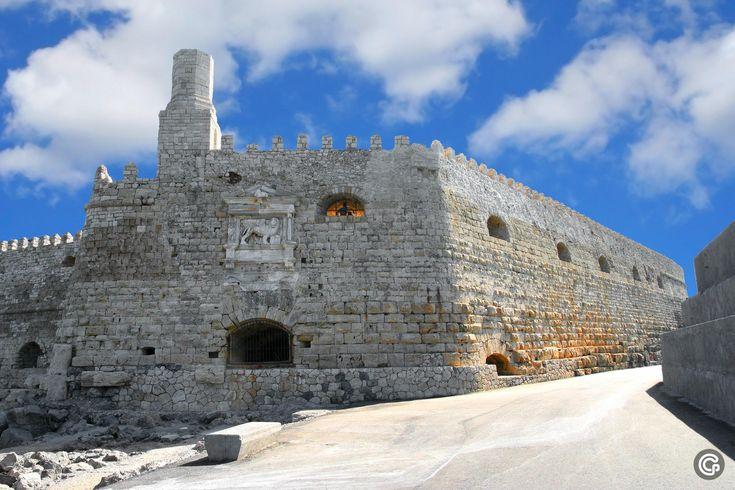 #Heraklion Fortress #CretaBeach #Crete