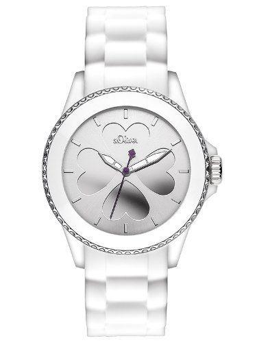 Sale Preis: s.Oliver Damen-Armbanduhr Analog Quarz Silikon SO-2695-PQ. Gutscheine & Coole Geschenke für Frauen, Männer und Freunde. Kaufen bei http://coolegeschenkideen.de/s-oliver-damen-armbanduhr-analog-quarz-silikon-so-2695-pq
